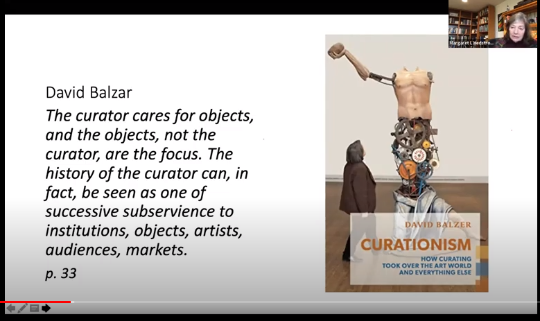 Hedstrom _ Curationism by David Balzer_front cover and quote p. 33 (1)